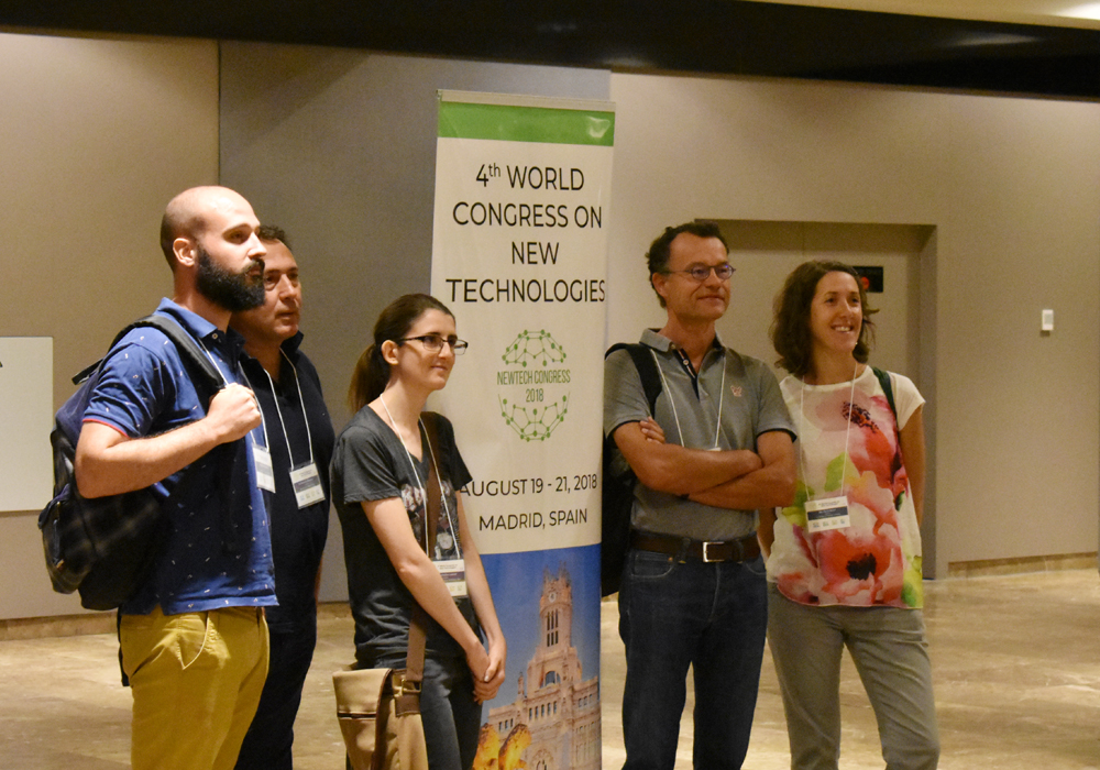 4th World Congress on New Technologies (NewTech'18) - Madrid, Spain, August 19 - 21, 2018 - Event Photos